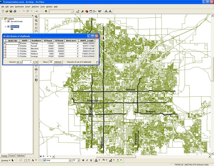 GIS-based Road Maintenance Management