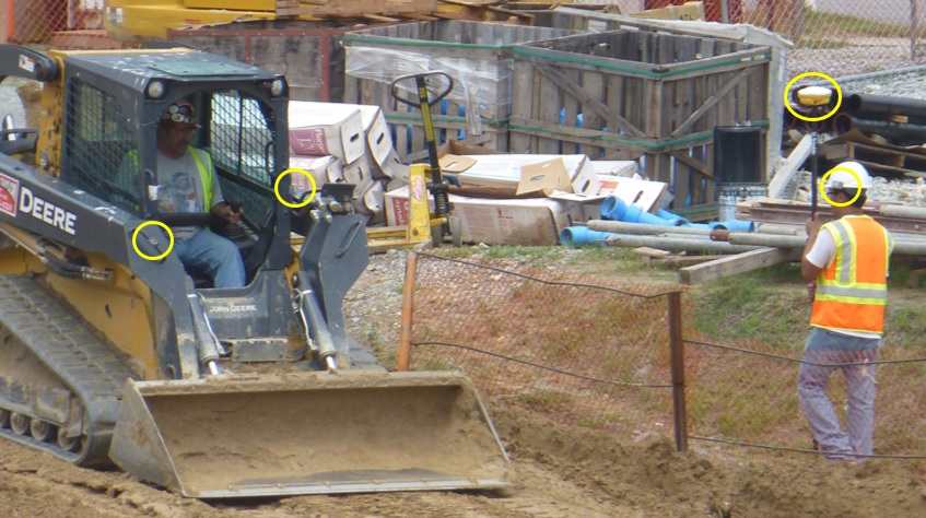 Quantifying Human-equipment Interactions in Construction Sites